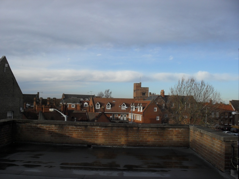 View from the rooftops