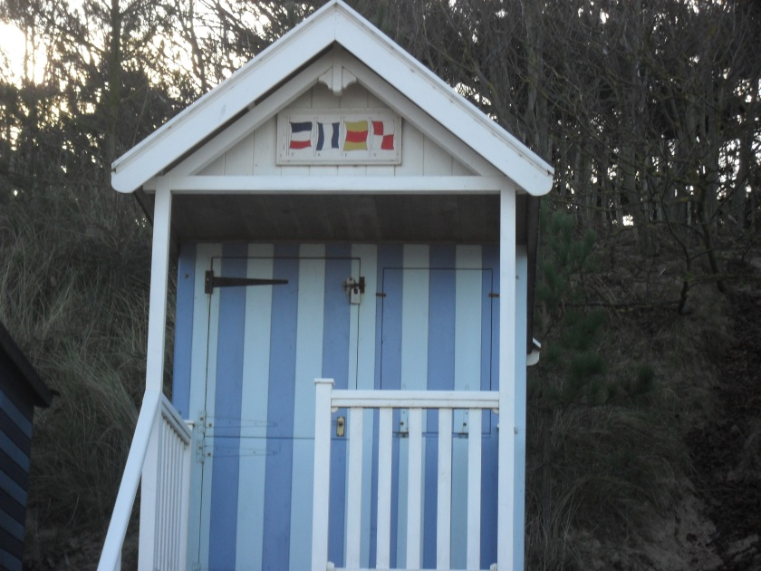 An Internationalists beach hut!