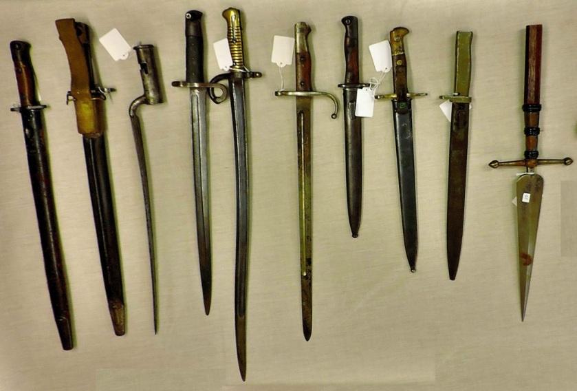 Bayonets (536-544 inclusive)