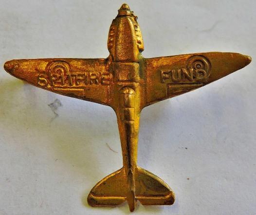 Lot 300 - a spitfire badge