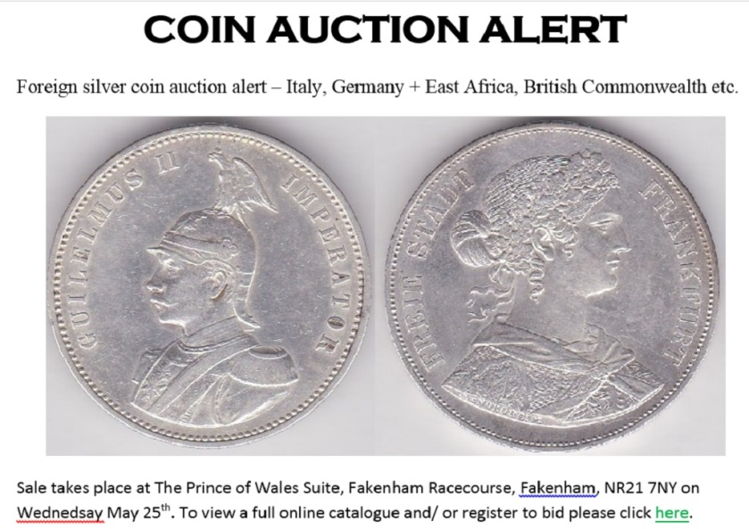 Coin Auction PR