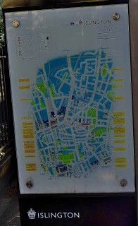 This map is on Pentonville Road, but all the other pictures in this set were taken outside NAS HQ