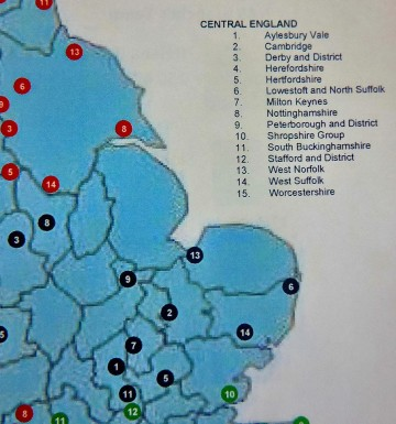 Note the virtual emptiness of Norfolk on the NAS branches map and the complete emptiness of Linolnshire