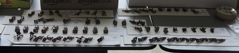 The model soldiers (of which we had vast numbers in various lots) also went down well.