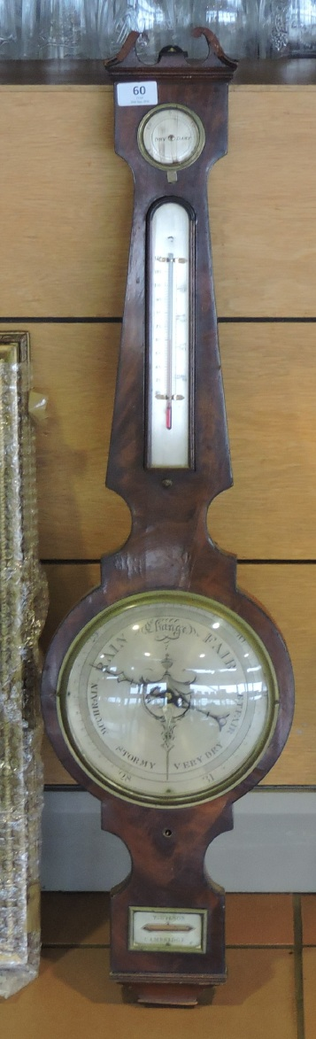 This barometer has seen almost as many auctions as I have, but this time it found a buyer.