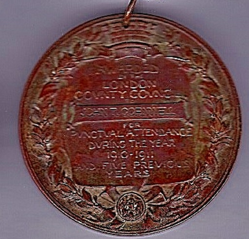 Kings Medal Reverse