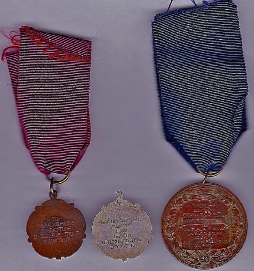 Medals reverse