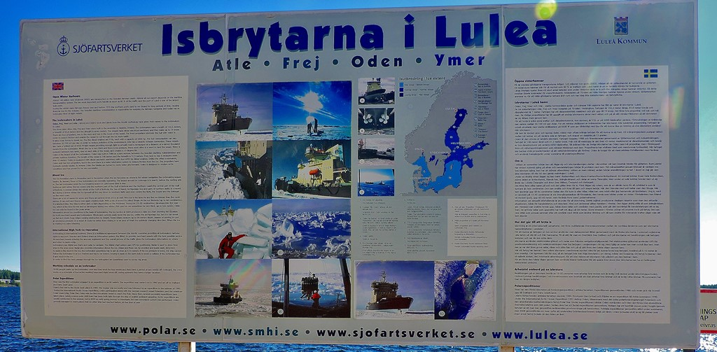 Exploring Lulea: Icebreakers and Mythology