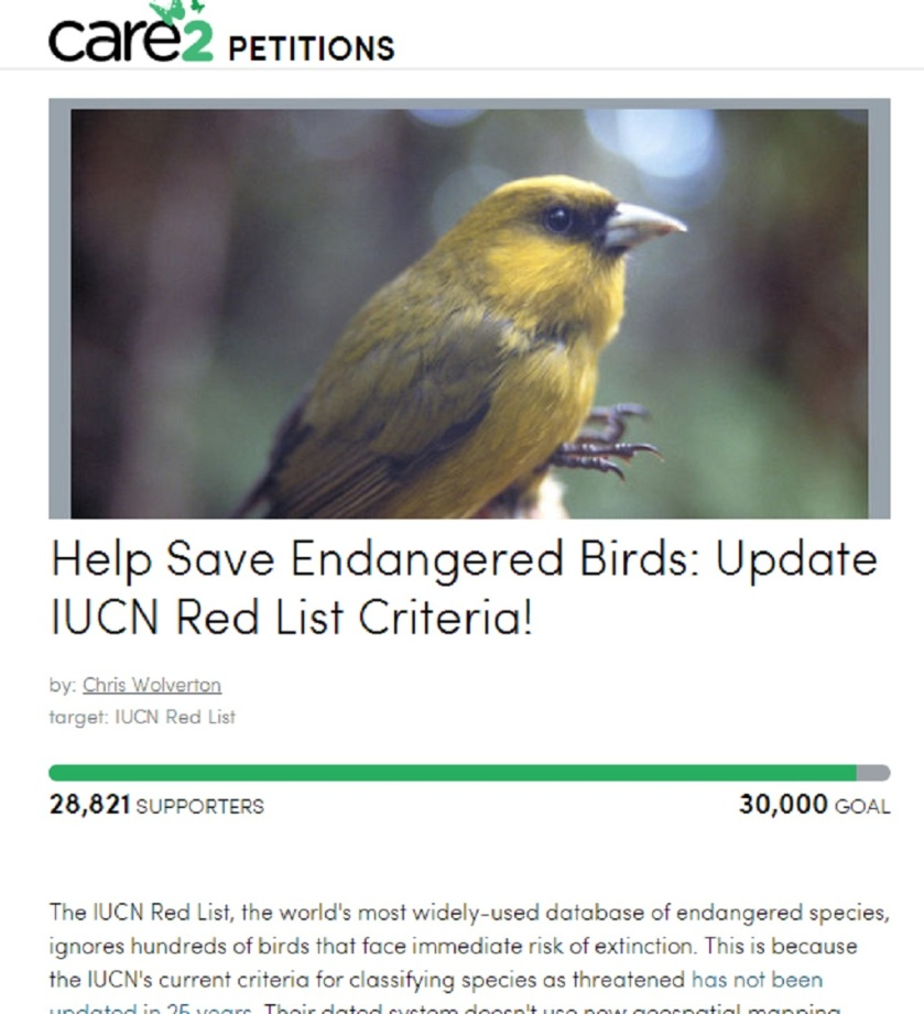 bird-petition