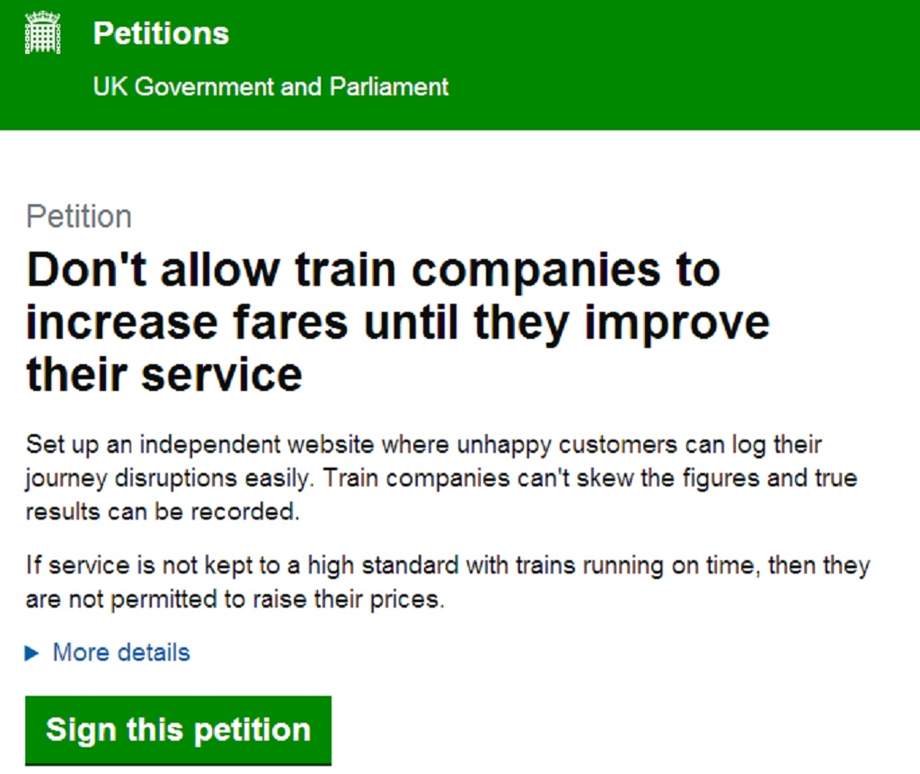 An Important Petition and aPuzzle