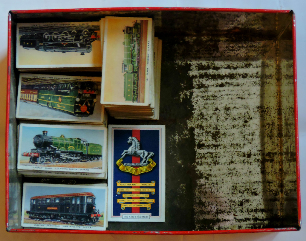 A Large Collection of Locomotive Cards
