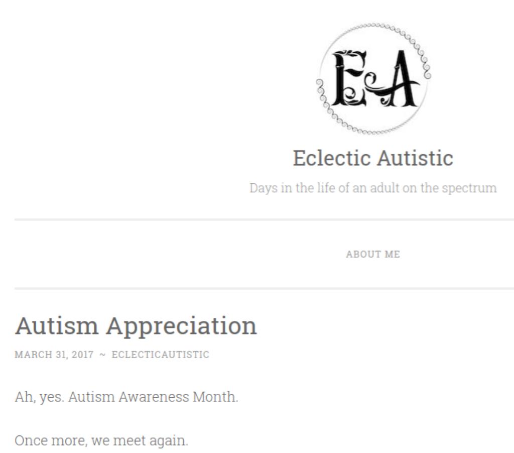 AutismAppreciation