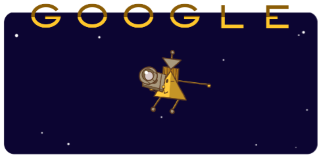 Google Doodle Celebrates Cassini Spacecraft