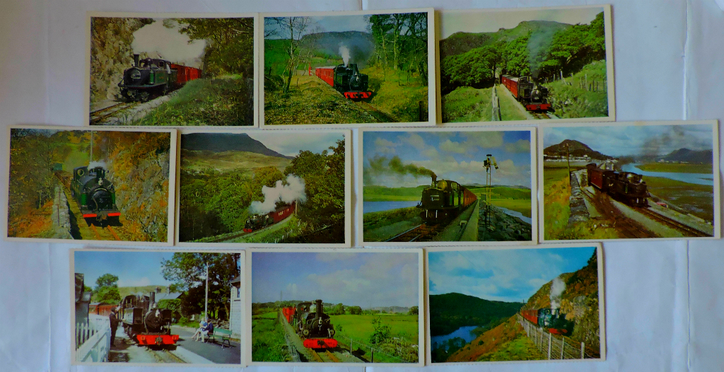Railway Postcards and an 'Autism Roundel'