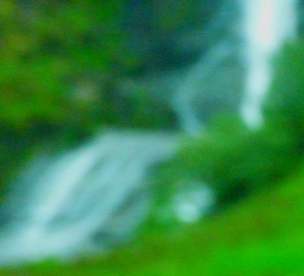 blurry waterfall