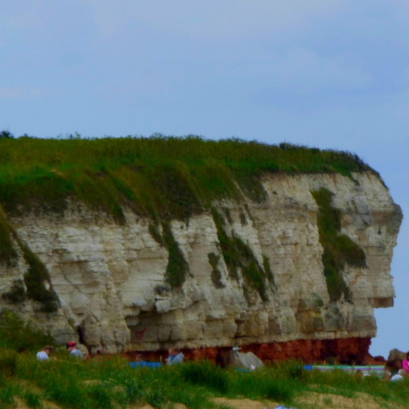 Cliff formation from Old Hunstanton Beach