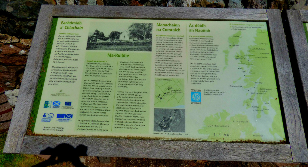 Gaelic info board