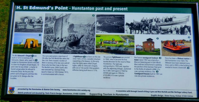 Info Board - St Edmunds Hunstanton
