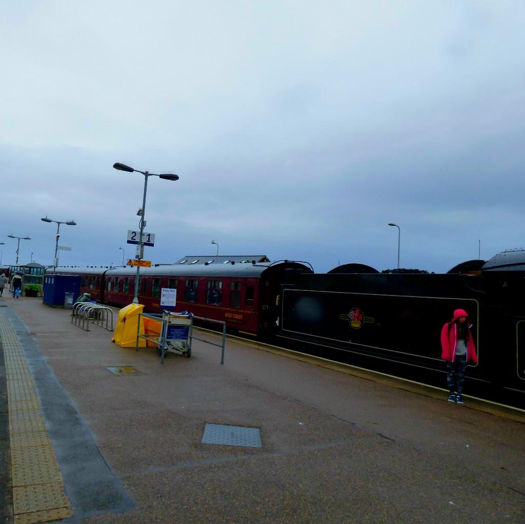 Jacobite train long view