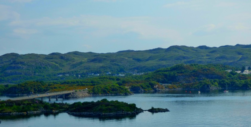 Kyle of Lochalsh from the bridge