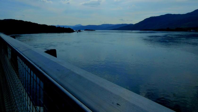 Loch Alsh from the bridge