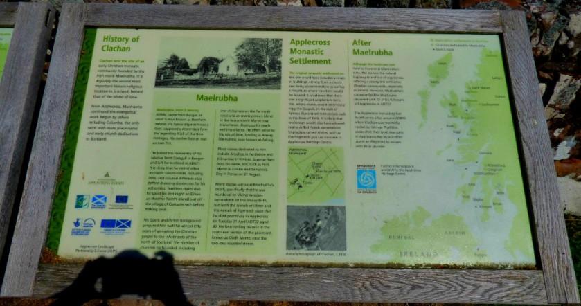 Maelrubha info board