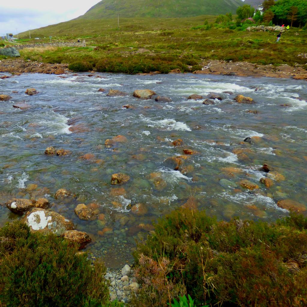 major river, Skye