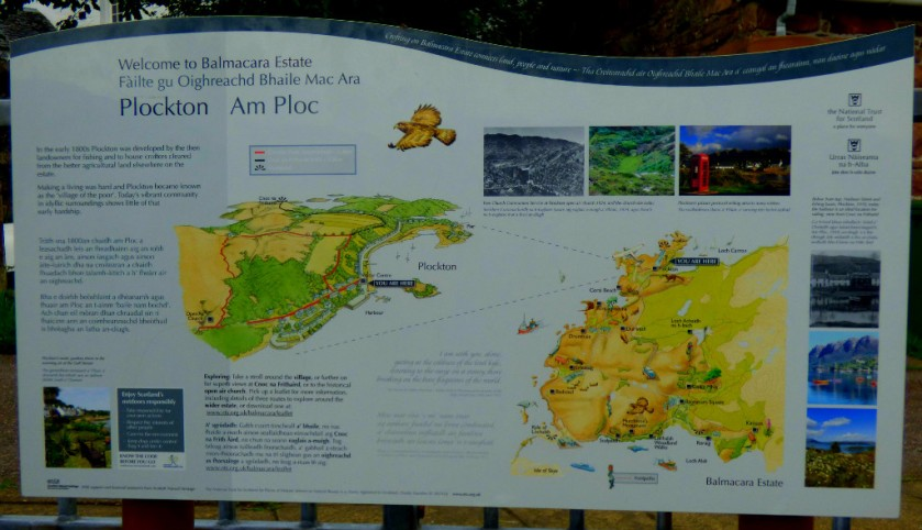 Map Board - Plockton