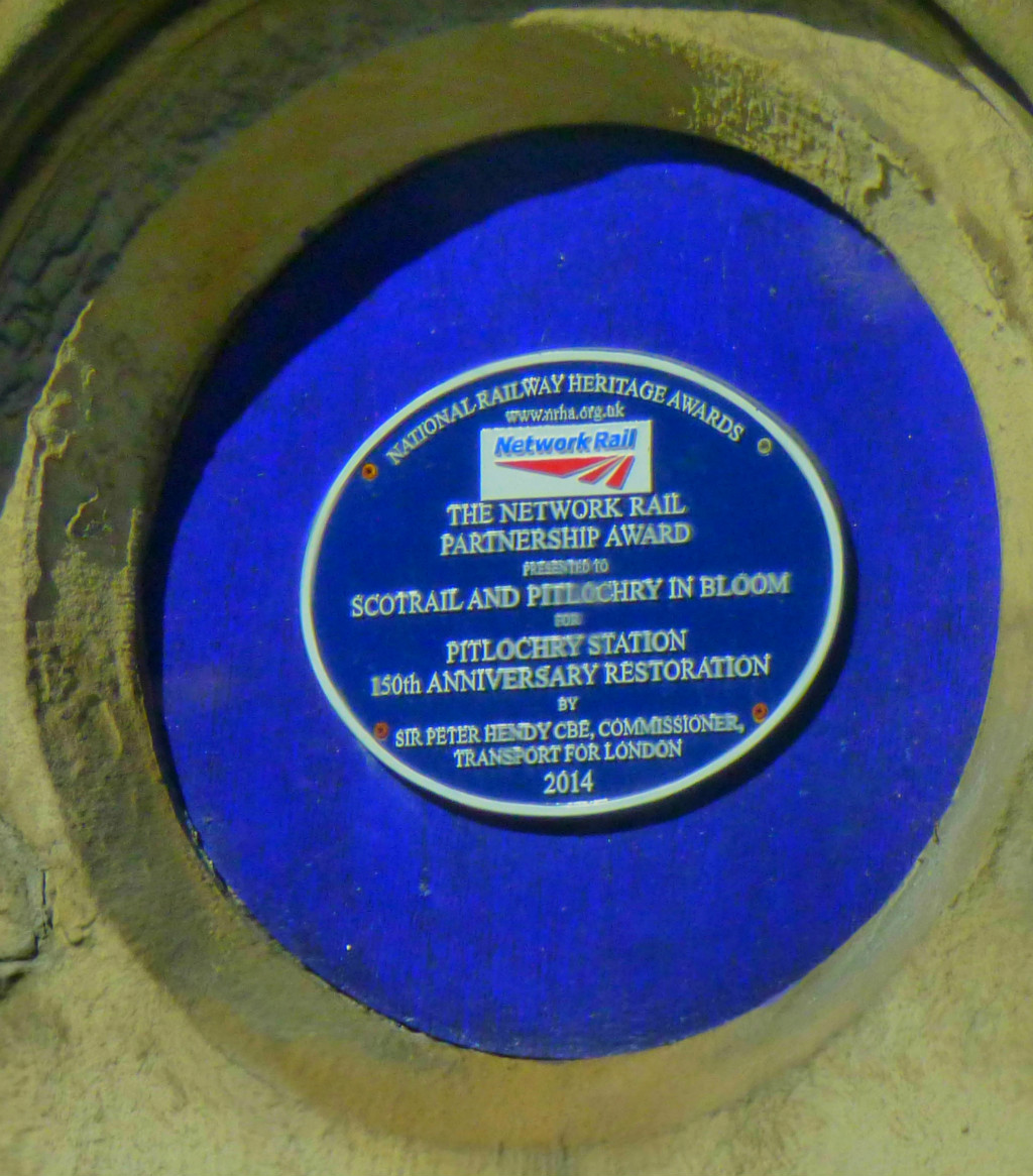 Pitlochry Plaque