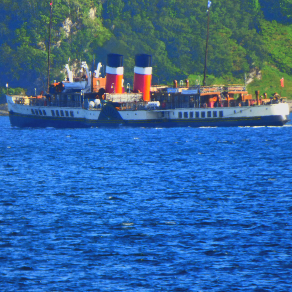 Scotland – Friday: The Paddle Steamer