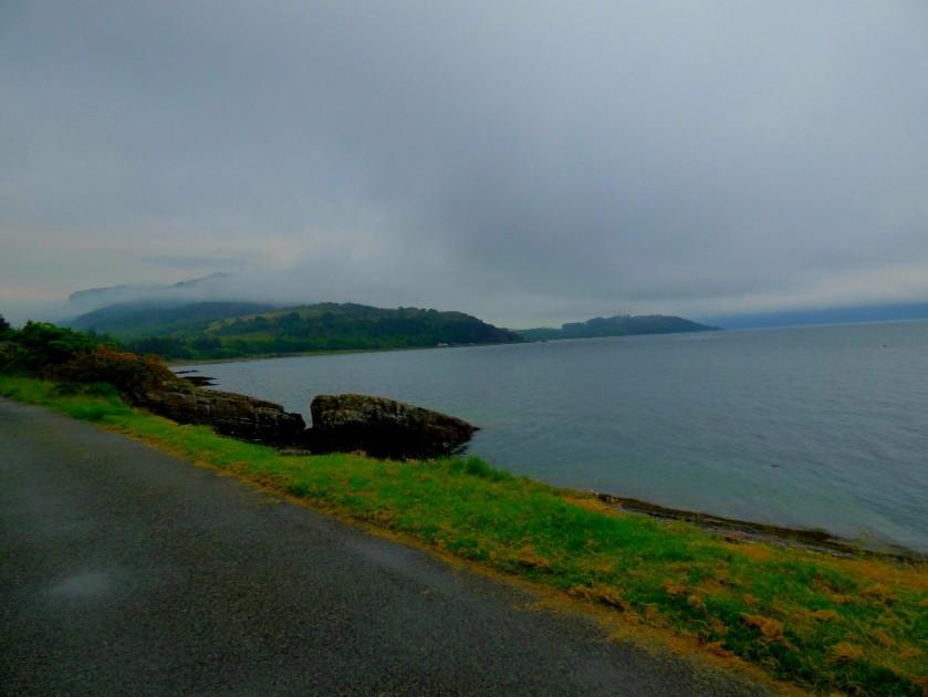 the loch side