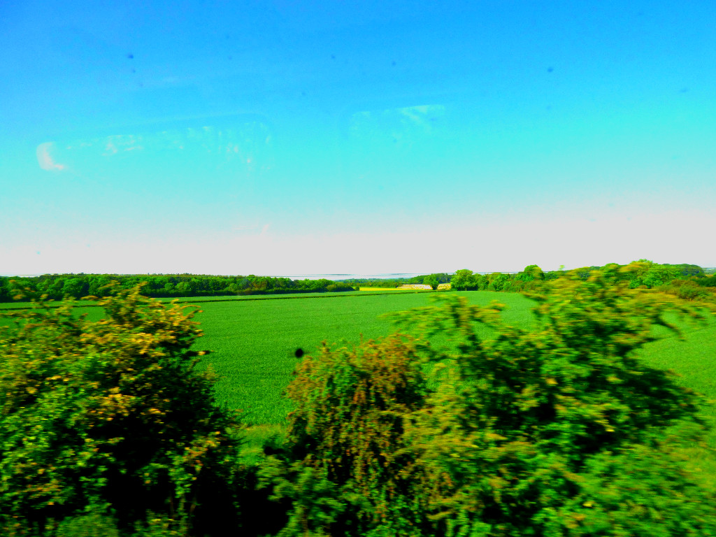 View from Virgin Train 1