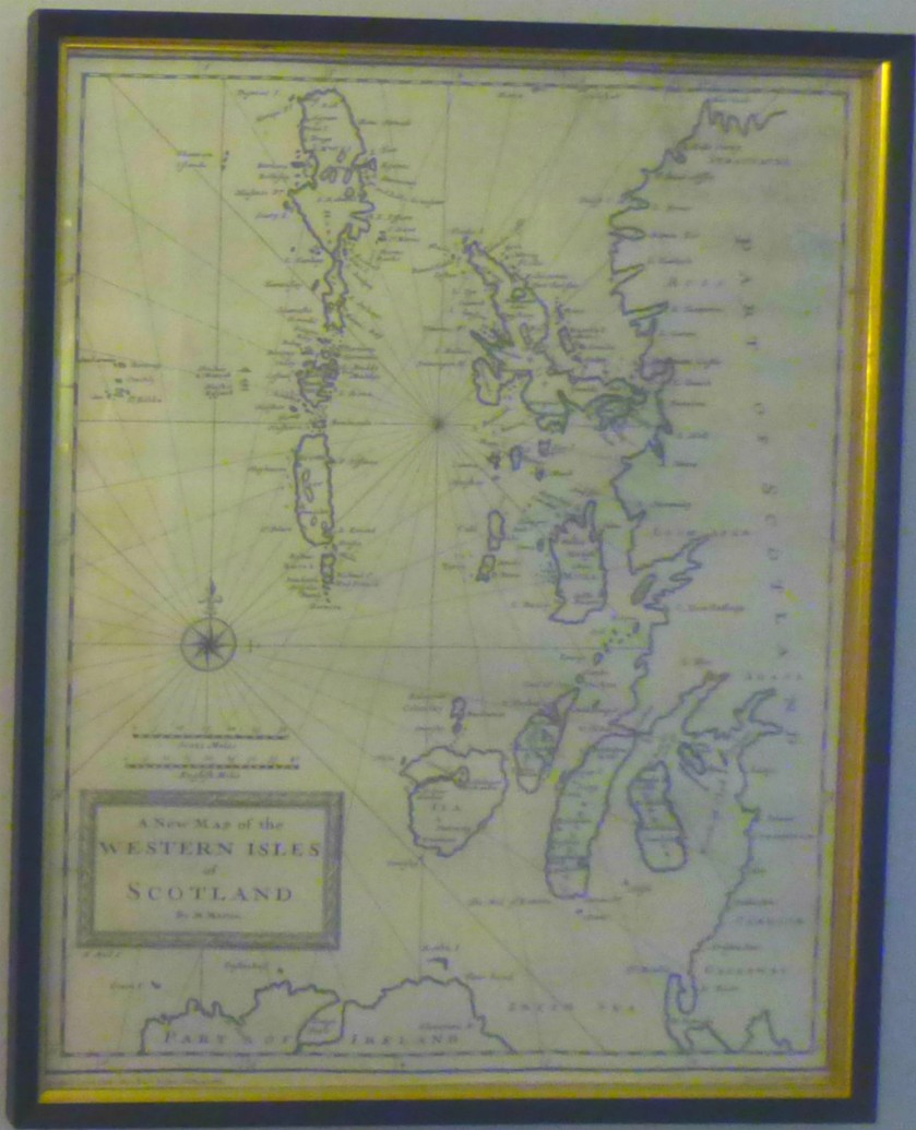 Western Isles Map, Ferry Cottage