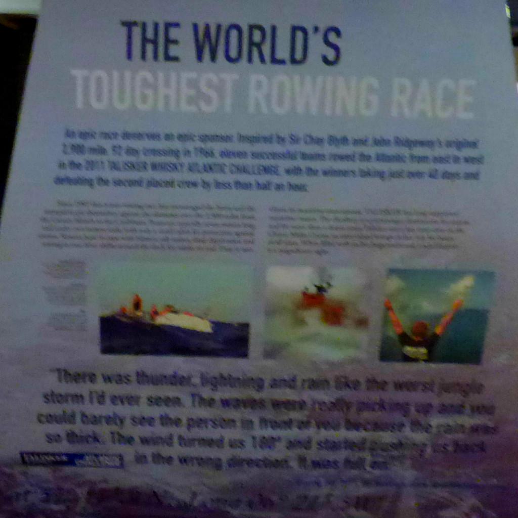 World's Toughest Rowing Race