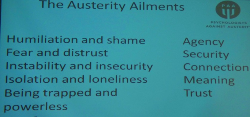 Austerity Ailments