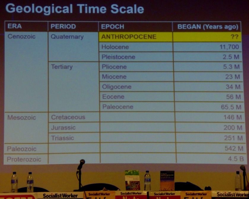 Geological timescale updated