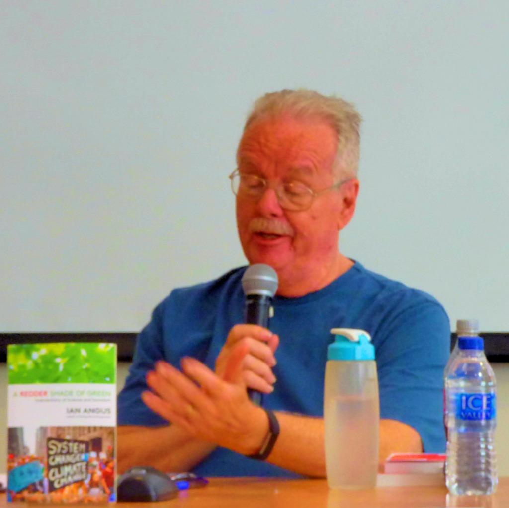 Ian Angus speaking