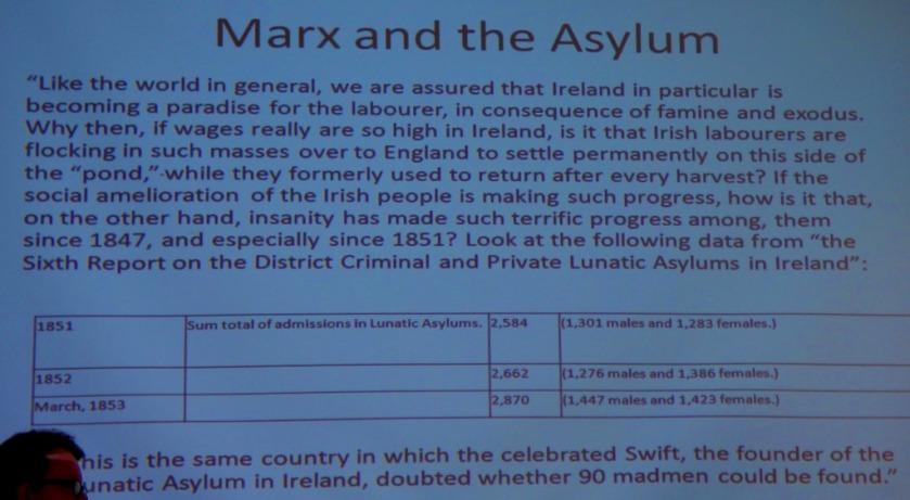 Marx at the asylum