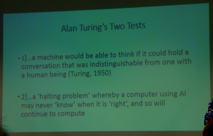 Turing;s two tests