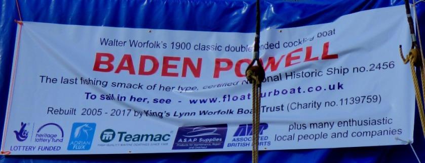 Baden Poweel sheet