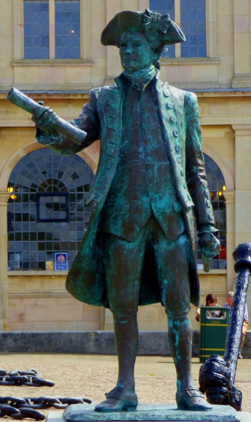CV statue
