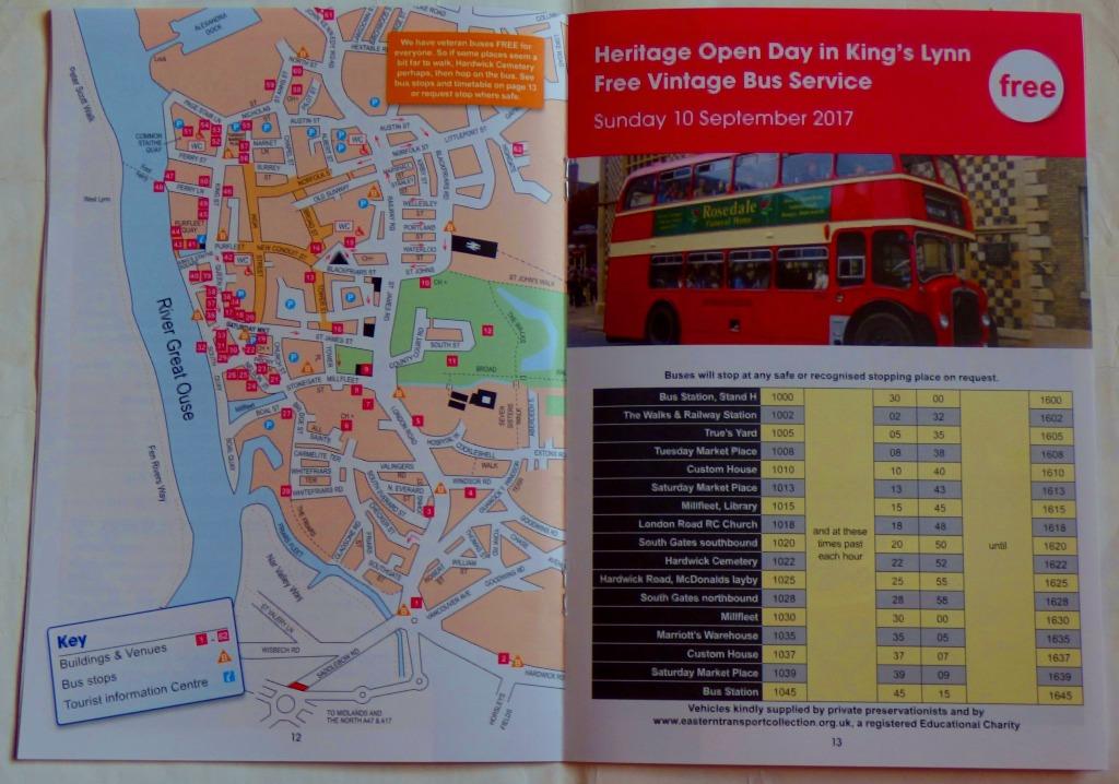 HOD map + bus