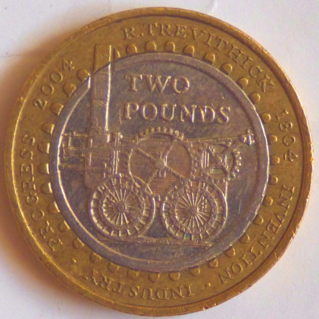 £2 - Trevithick 1