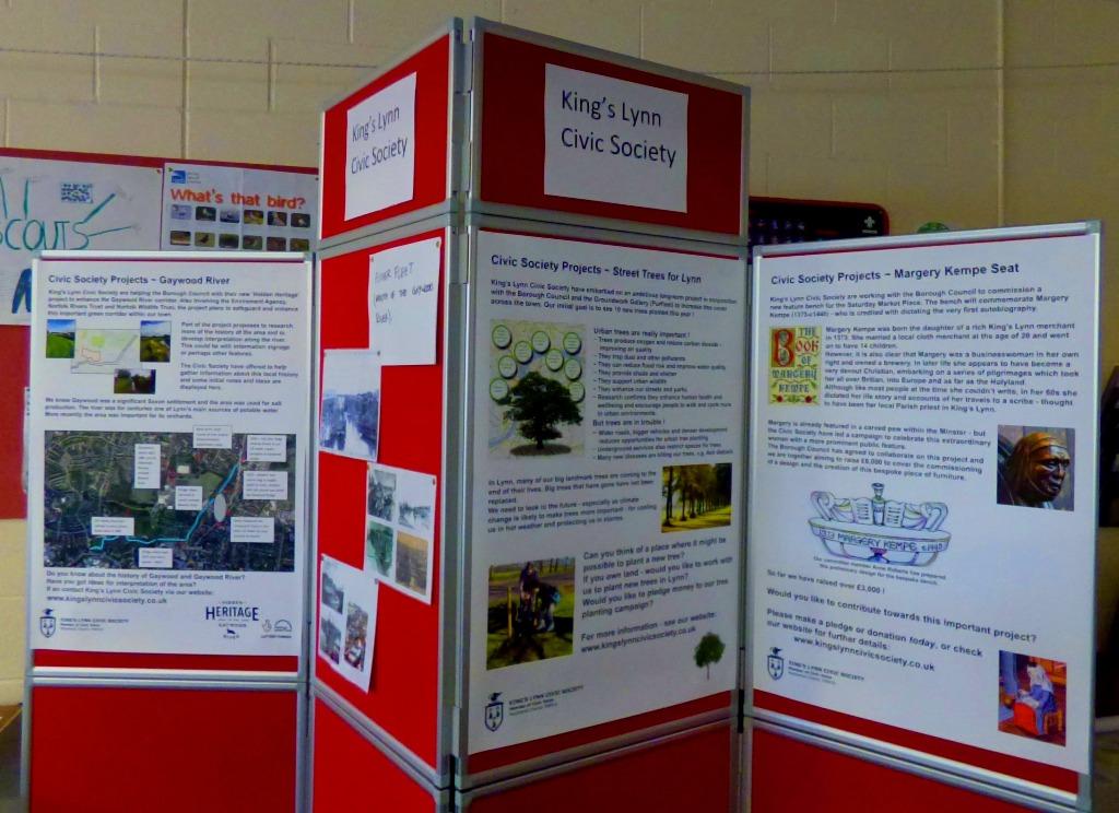 Civic Soc display board