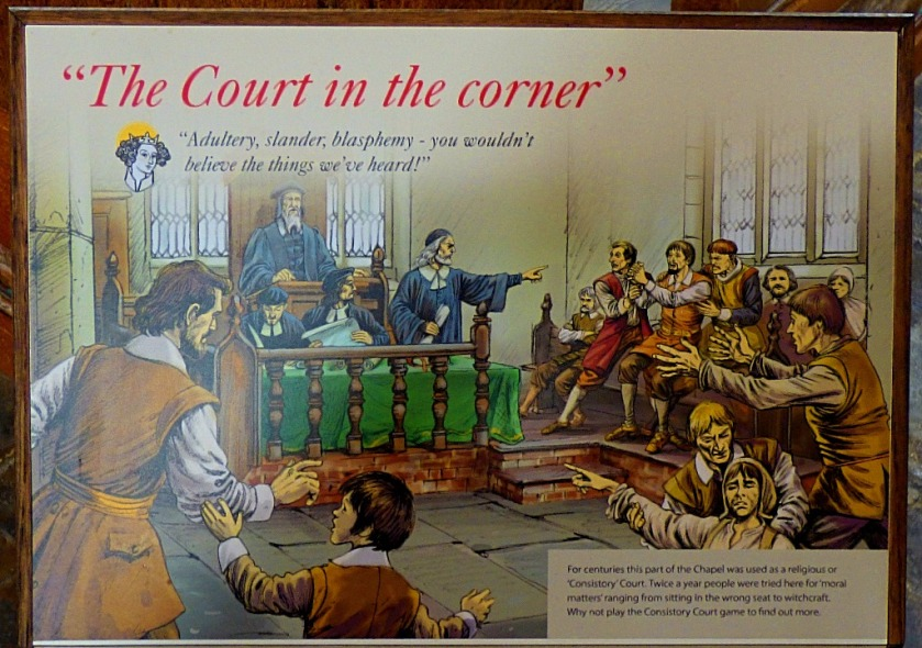 Court in corner