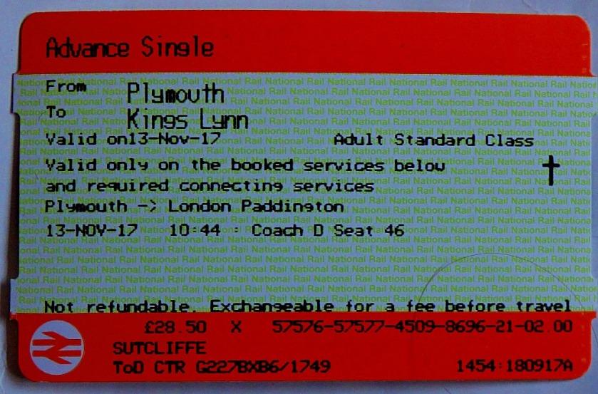 PLY - KL ticket