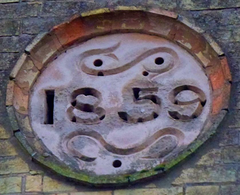 Date plaque 1