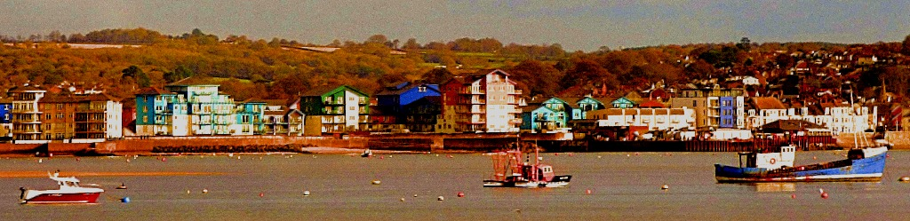 Boats and Buildings from train II