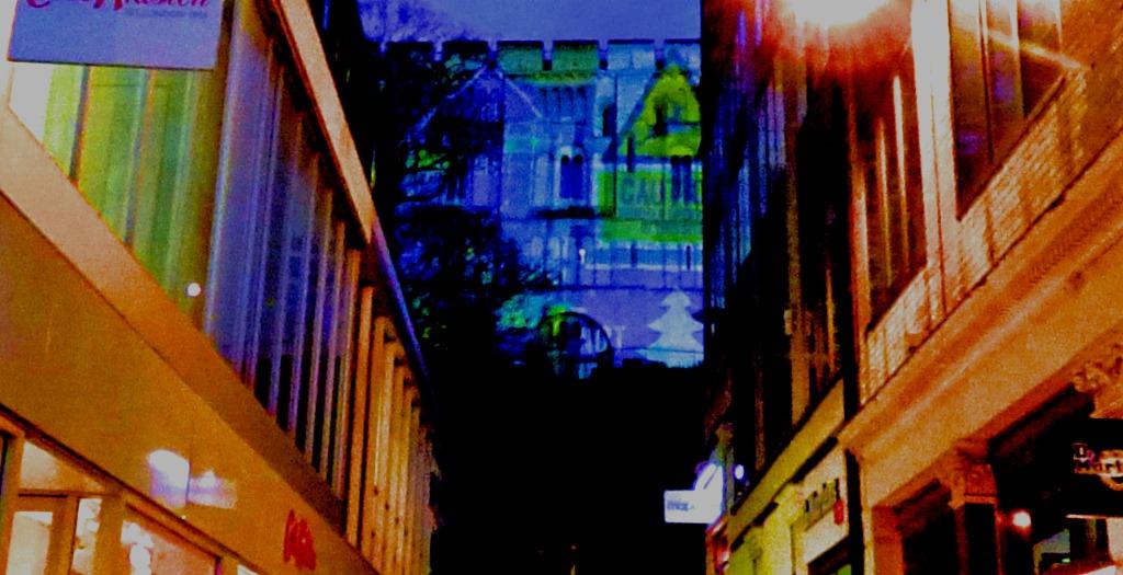 Castle - lit up 2