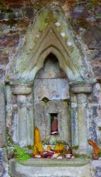Centre of shrine